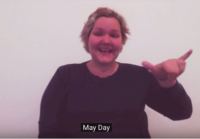 May Day in ASL